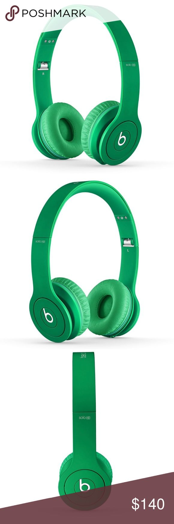 Beats Solo HD (wired) Beats Solo HD wired in matte green. Only used a few times, in perfect condition! Comes with case. Other