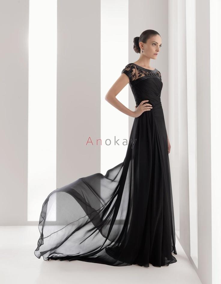 28 best Schwarze Abendkleider images on Pinterest | Schwarzer ...