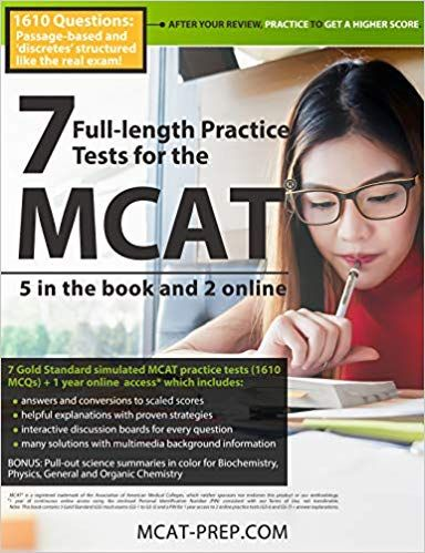 DOWNLOAD PDF] 7 Full-length Mcat Practice Tests - 5 in the Book and