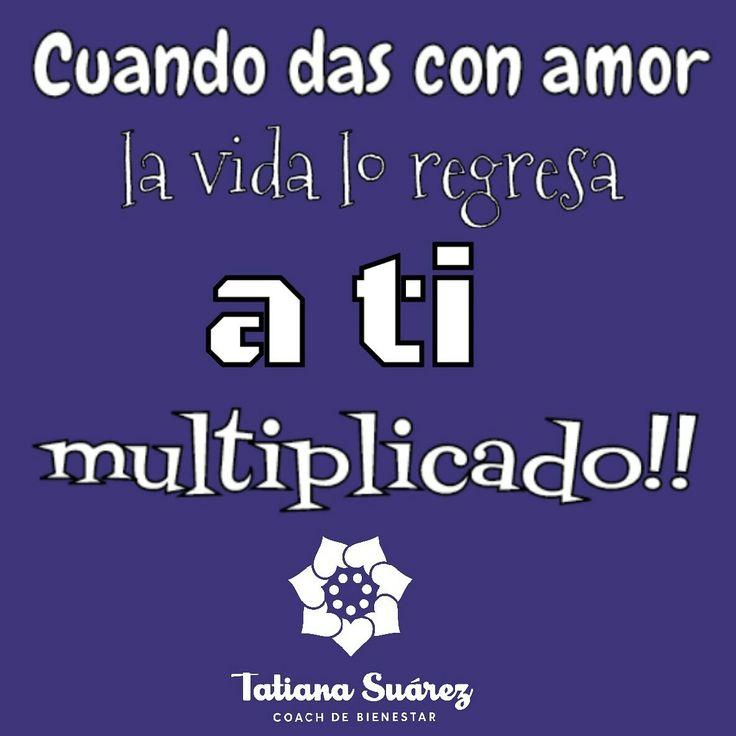 Dar para recibir!!!  #ElPoderDeLoSimple #SoundHealing  #Ekánta #Reiki #Cristales #Colombia  #SonidoSanador #TatianaSuárezCoach #Medellín #PNL #Coach #Meditación #EntrenandonosParaLaVida #HaciendoLoQueMeGusta