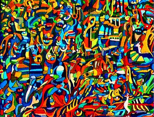 Arte abstracto contempor neo ideas pinterest for Imagenes cuadros abstractos juveniles
