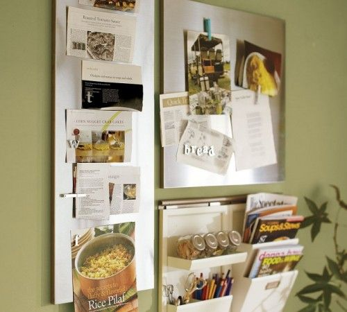 Using Wall Mount Magnetic Boards To Store And Show Small Things |  Shelterness