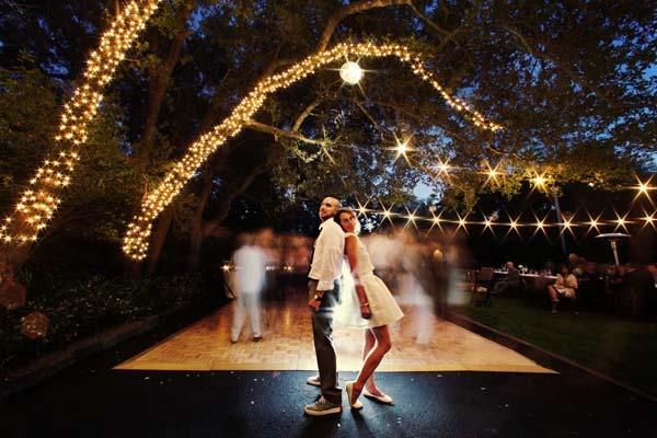 Pretty outdoor dance floor party planning ideas for Outdoor dance floor ideas