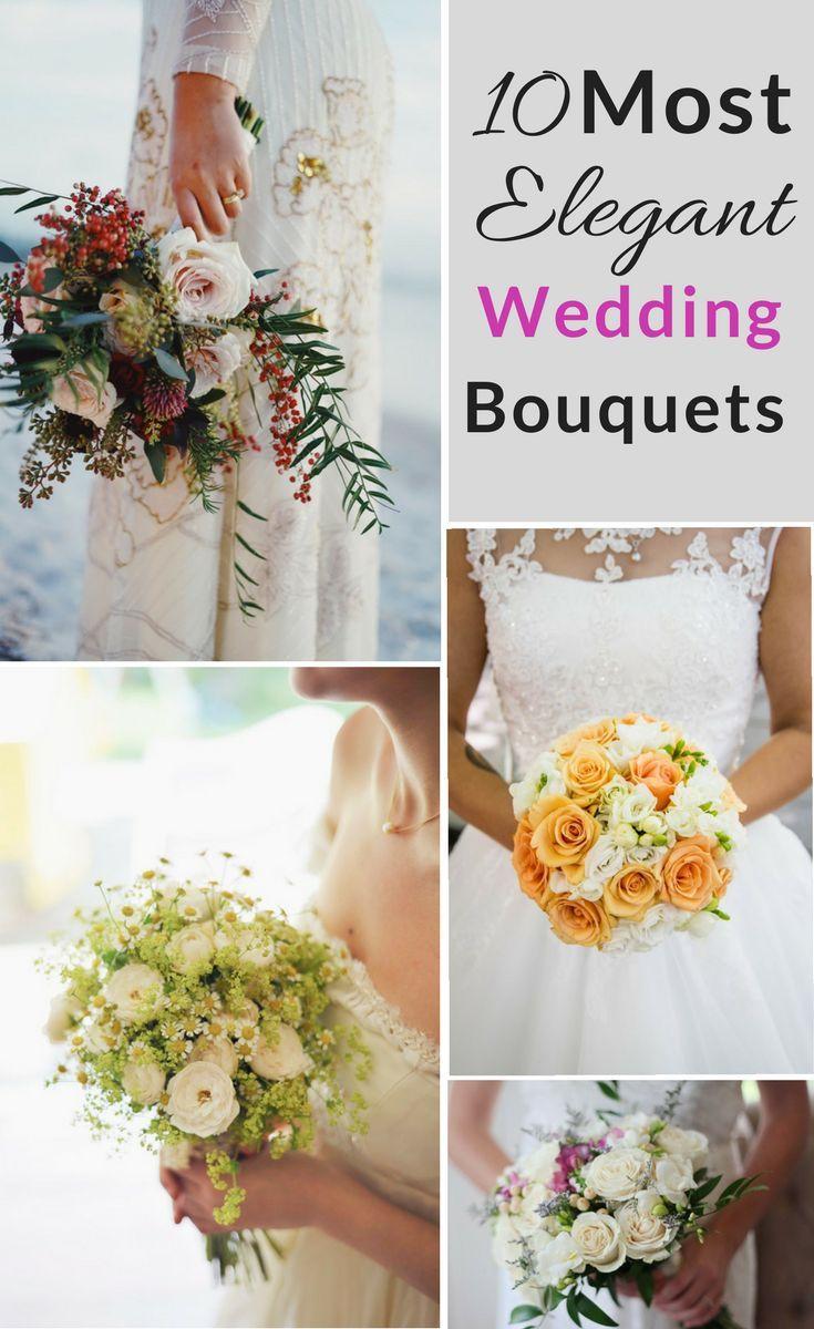 Wedding Bouquet Flower Arrangement Inspirations Spring Wedding