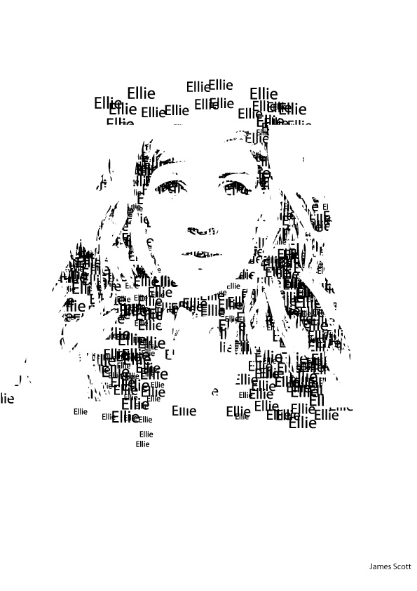 suppose to be Ellie Goulding