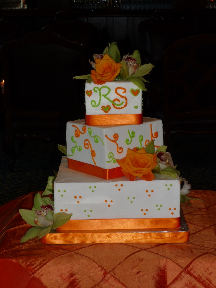 lime green and orange wedding cakes 56 best images about color orange and lime on 16898
