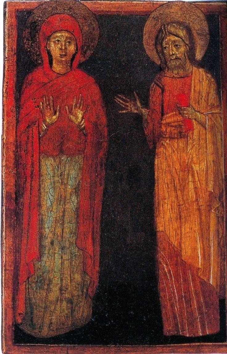 Berlinghiero Berlinghieri - Crocifisso di Fucecchio, particolare - 1230-35…