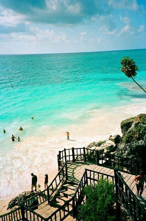 Tulum, mexico I've always wanted to go here.