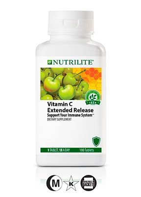 Nutrilite® Vitamin C Extended Release - #immunesupport #immuneprotection  Visit http://www.amway.com/ChristyClarke for more information.