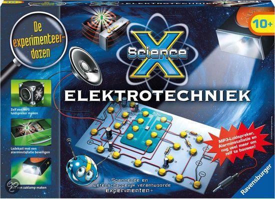 Je wilt je lievelingsmuziek horen, maar je hebt geen luidspreker? Dan bouw je er toch zelf eentje! Breng licht in de duisternis met je zelfgebouwde zaklamp en beveilig je waardevolle spullen met je zelfgebouwde alarminstallatie. Stap in de wereld van de Elektrotechniek, na 8 fascinerende proeven ben je een ware expert. Aan de slag en ontdek met experimenten de wereld! Geschikt voor kinderen vanaf 10 jaar.