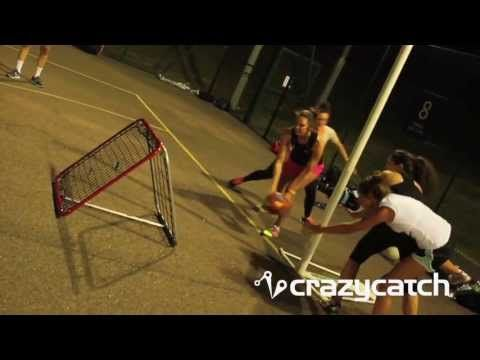 Crazy Tag Netball - England Netball #MtGL Drill with Crazy Catch by Tamsin Greenway - YouTube