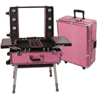 Makeup vanity/case i want this as my travel case for when i teavel back and forth to florida and other places