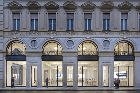Turin Apple Store Via Roma, 82 Torino Architettura