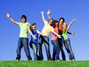 """Team Building Ideas for Teenagers- Only use the """"punch line"""" activity"""