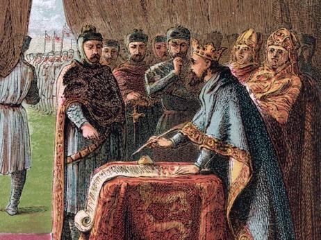 13th-Century Food Fights Helped Fuel The Magna Carta: Magna Cartas, John Minions, King John, Fight Help, Large Households, Help Fuel, 13Th Century Food, Blog, Food Fight