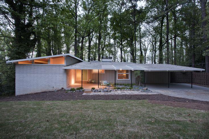 Mid Century Mid Century Modern Mcm Atlanta Homes Homes