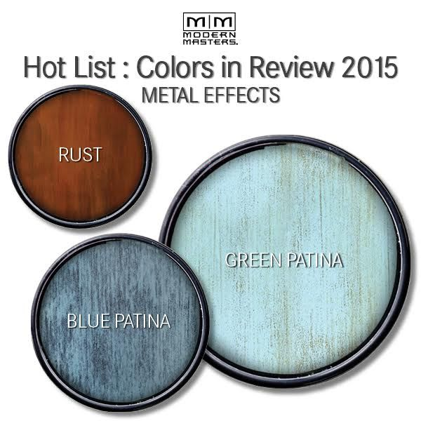 Hot Metal Effects Projects in 2015 | Modern Masters Cafe Blog