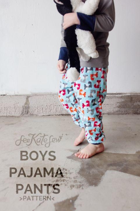 BOYS PAJAMA PANTS PATTERN