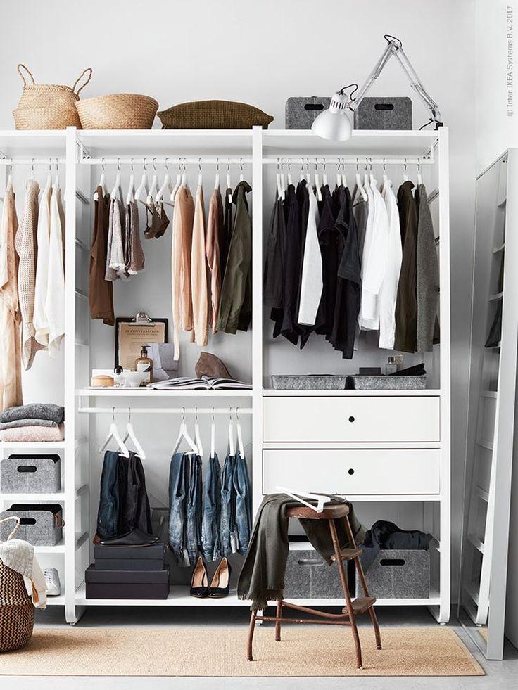 Förvaring till klädkammare, dressingroom, walk-in-closet