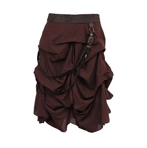 Shana Cotton Steampunk Skirt