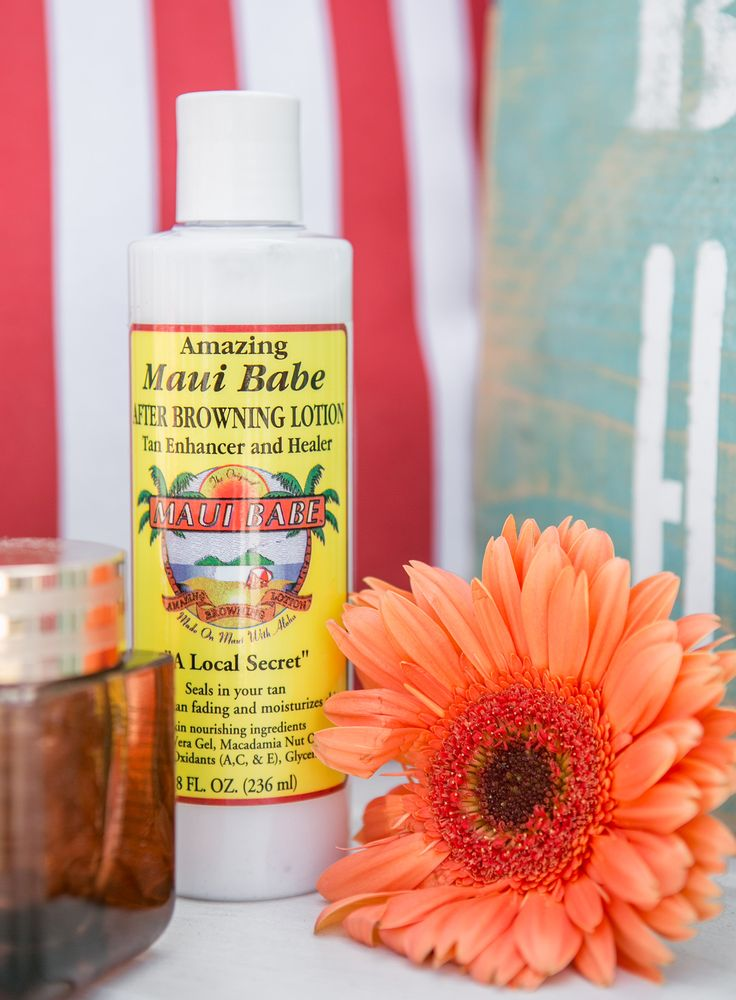 Sydne Style reviews maui babe lotion for best ways to prevent peeling after a sunburn