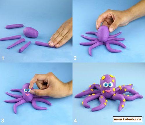cute octopus by kuharka