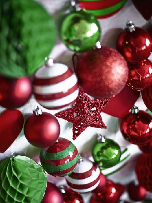 Τα Χριστούγεννα είναι κόκκινο και πράσινο! Κλασικά πράγματα!