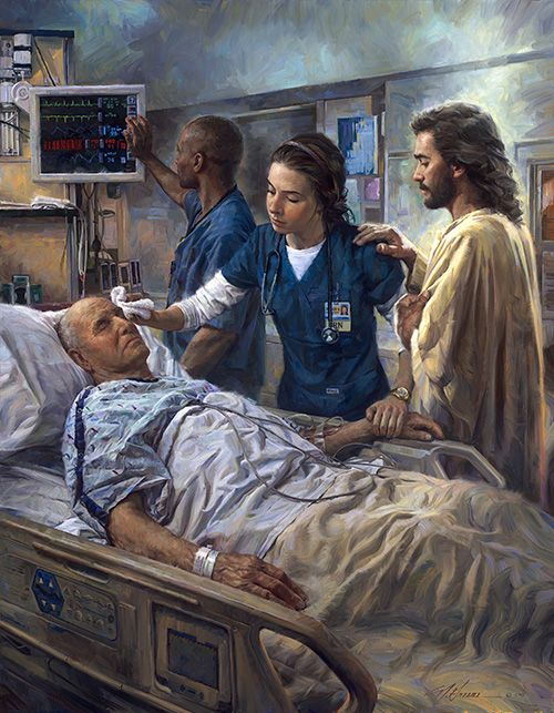"Lord, when I help someone who is ill, let me never forget that love is the most important medicine. And when I am ill, Lord, please send me medical men and women who are not only wise and skilled but filled with love."" -- The Healer"" by Nathan Greene"