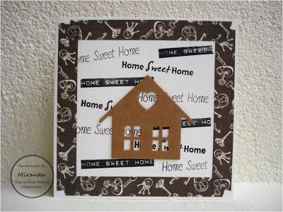 Miranda's Creaties - Home Sweet Home