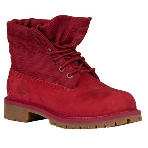 timberland boots roll top for boys