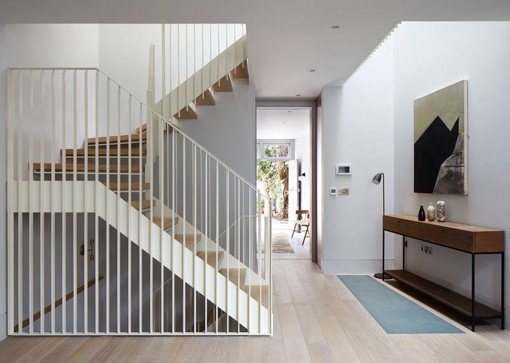 "Dezeen on Twitter: ""London mews house renovation centres around a cream staircase: https://t.co/gW1vqPGebI https://t.co/o9yGearPNT"""