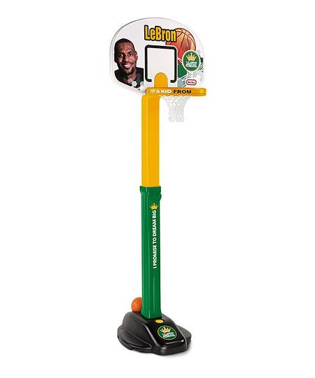 SEAN Little Tikes LeBron James Dream Big Basketball Set   zulily