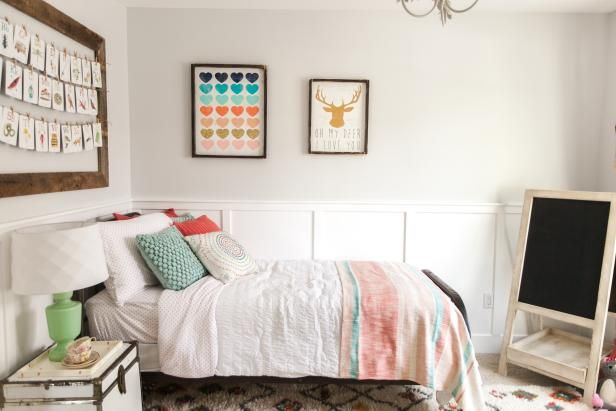 HGTV shares 11 chic and sophisticated teen bedroom decorating ideas that will grow with them.