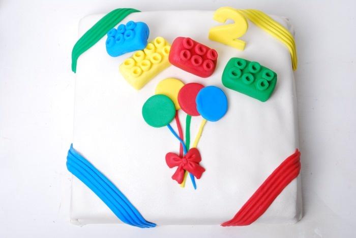 Passion 4 baking » Lego Bursdags kake