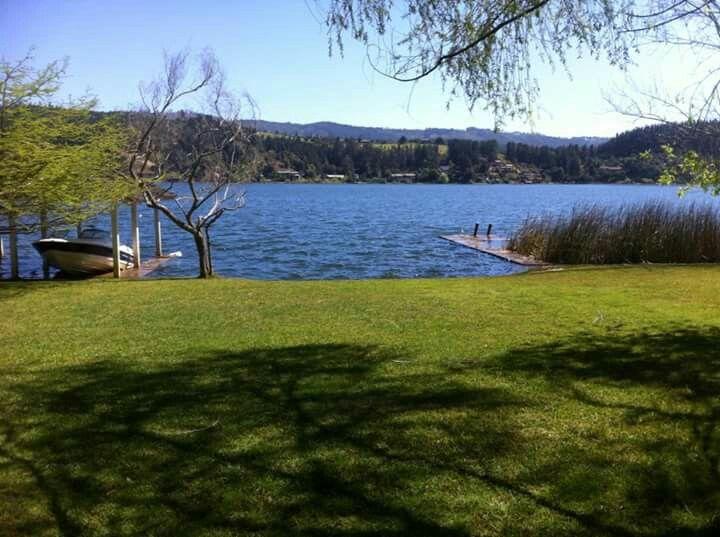 Vichuquen lake, Chile