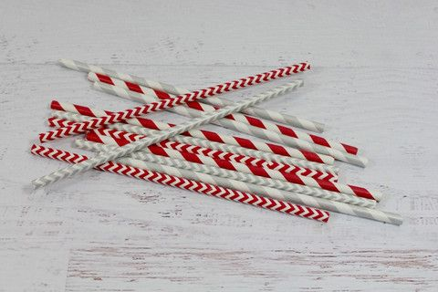 Christmas Festive Straw Mix | Pop Roc Parties