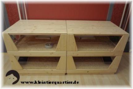 Meerschweinchenkäfig aus Holz in Rheinland-Pfalz - Rehborn | Laufräder und anderes Zubehör kaufen | eBay Kleinanzeigen