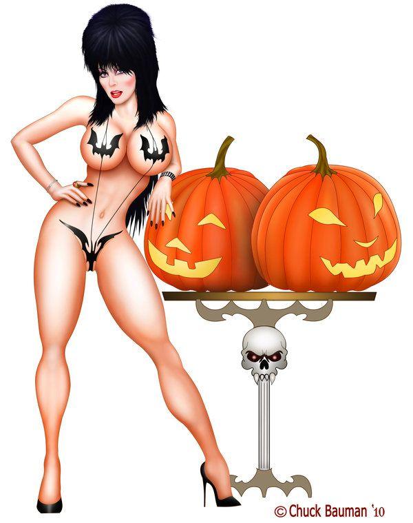 Elvira Batkini Great Pumpkins by Chuck-Bauman on DeviantArt