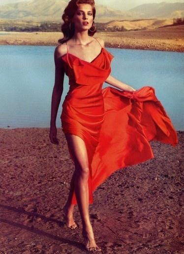 modern-cleopatra:    Daria Werbowy