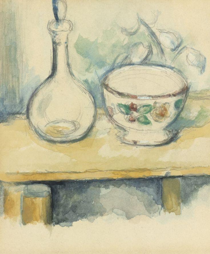 """C'è una logica colorata: il pittore non deve che obbedire a lei, mai alla logica della mente""! ""There are two things in the painter, the eye and the mind; each of them should aid the other"" - Paul Cézanne"