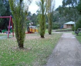 Take a relaxing break in these picturesque surrounding with many walking tracks and cycling trails. The Park provides push button barbecues, wet weather/shade shelters for up to 50 people, clean bathrooms with disabled access and playground equipment for the kids.At the northern boundary you will see a walking path through to the tennis courts and oval. Follow the path until you reach the beginning of the cycle way, a nine kilometre return walk or ride on a flat surface.Parking for cars and…
