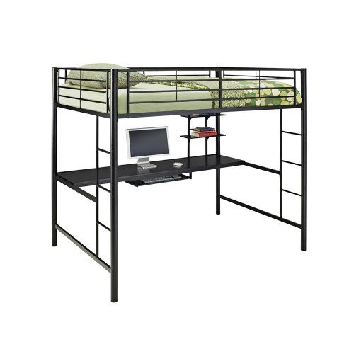 This Modern Marvel Features A E Saving Design That Incorporates Desk Beneath Its Bed Frame Sy Steel Construction Two