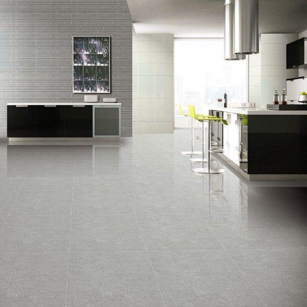 Super Polished Light Grey Porcelain Floor Tiles Con Imagenes Pisos De Baldosas Baldosas Ceramica Piso De Porcelanato