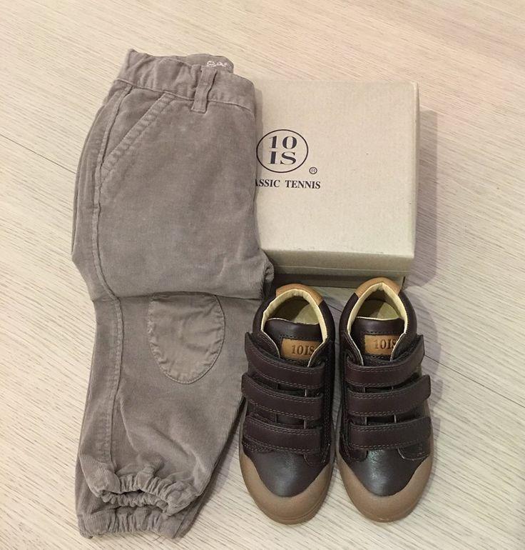 Panta in velluto Babe&Tess e sneakers 10 IS.. soooooo cool!!!  www.cocochic.it http://www.cocochic.it/…/bambi…/956-pantalone-con-toppe.html http://www.cocochic.it/it/bambino/1009-scarpa-bassa.html