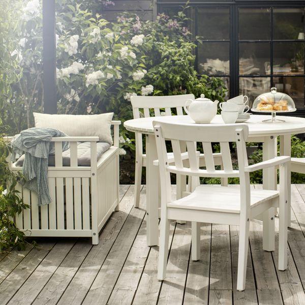 ÄNGSÖ Outdoor Dining Furniture Of Solid Pine