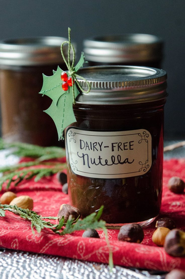 Recipe: Dairy-Free Nutella --- OMG I think this saved my life! It's hard to contemplate going on without Nutella after being diagnosed with a milk allergy :) -k8