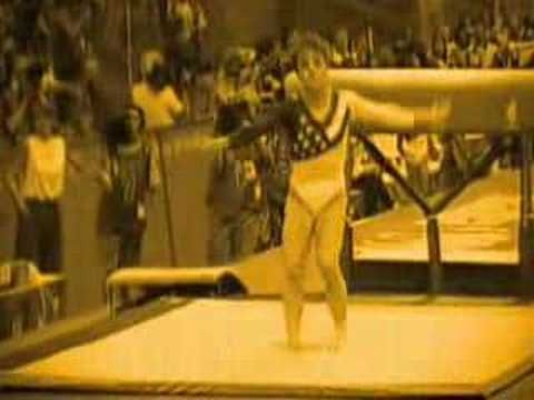 "Love the commercial and this is what i think of when i think of the olympics! Morgan Freeman ""Go World"" Olympic Commercial: Kerri Strug"