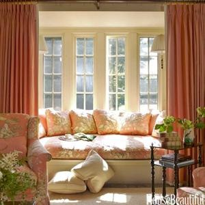 25 best ideas about bow window curtains on pinterest - Curtains for bay windows in living room ...