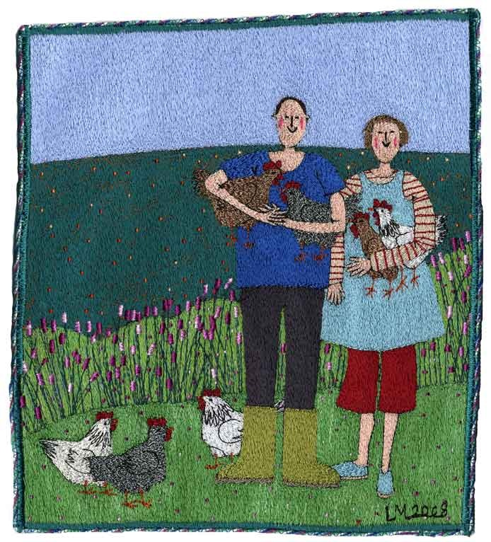 Linda Miller Machine Embroidery