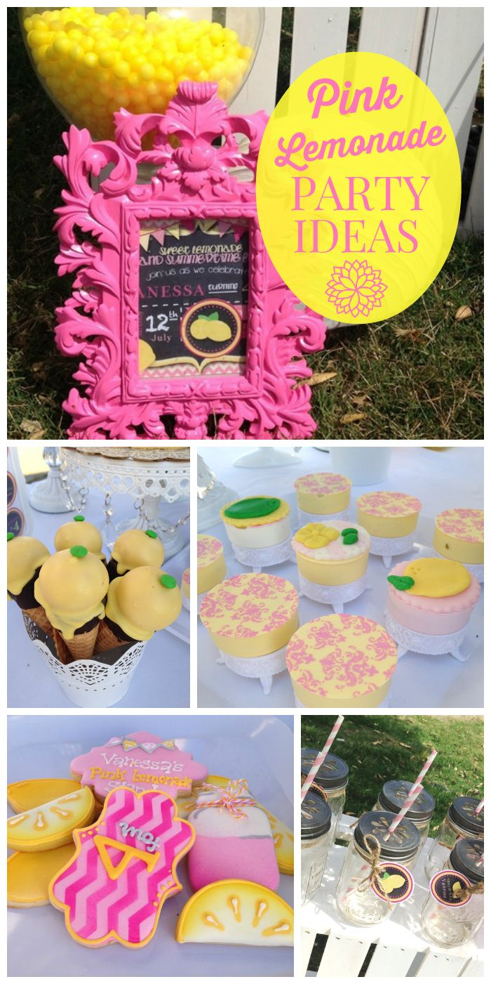 best 25 pink lemonade party ideas on pinterest baby